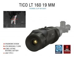 ATN TICO LT 160, 19 mm Thermal Clip-On