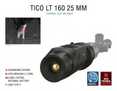 ATN TICO LT 160, 25 mm Thermal Clip-On