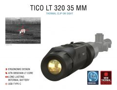 ATN TICO LT 320, 35 mm Thermal Clip-On