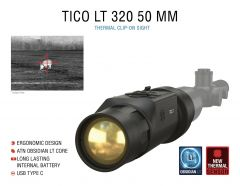 ATN TICO LT 320, 50 mm Thermal Clip-On