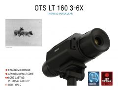 ATN OTS LT 160, 3-6x Thermal Viewer