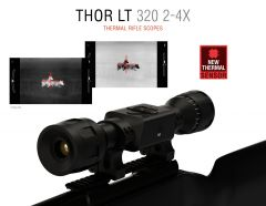 ATN ThOR LT 320, 2-4x Thermal Rifle Scope
