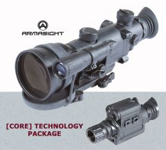 NVG Package - Armasight Vampire 3X CORE NV Rifle Scope with Spark Monoc