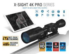 ATN X-Sight-4k 3-14x Pro Smart Day and Night Vision Hunting Rifle Scope