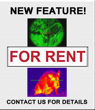 Thermal Imaging Equipment for Rent