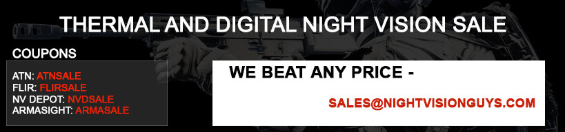 Night Vision and Thermal Imaging Sale Coupon